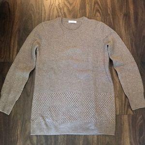 Equipment Tan Sweater